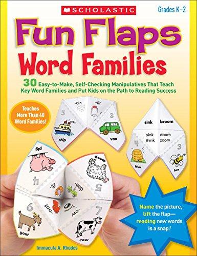 9780545280785: Fun Flaps: Word Families