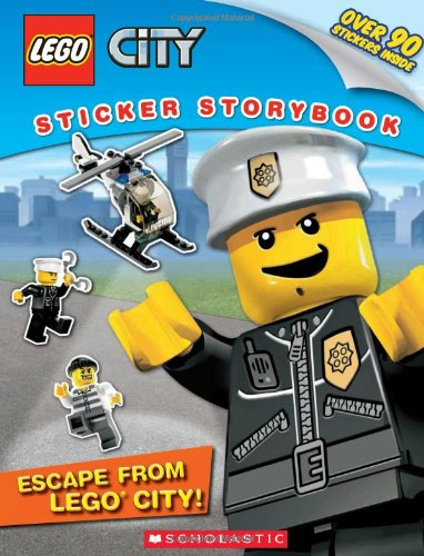 Lego City - Escape from Lego City!: Sticker Storybook (Paperback) 9780545280952 Explore the world of LEGO City! It's a busy day in LEGO City! Create your own city adventures in this play-along sticker storybook.