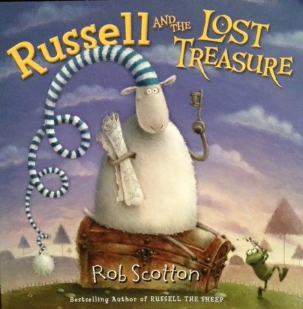 9780545280990: Russell and the Lost Treasure