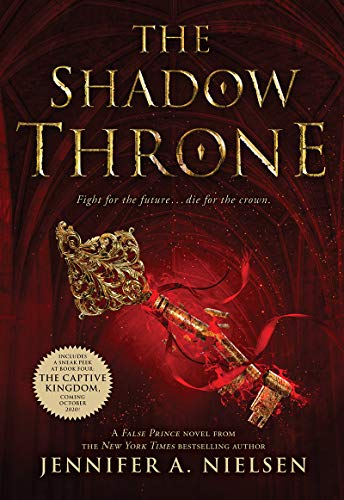9780545284189: The Shadow Throne (The Ascendance Trilogy, Book 3): Book 3 of The Ascendance Trilogy