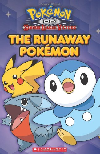 The Runaway Pokemon 9780545284356 Gotta read 'em all! Scholastic's publishing program is geared to appeal to Pokémon fans of all ages. Handbooks, sticker books, create & trace, readers, and more. Ash and his Pokemon are on an all-new adventure. This book will be based on an exciting, all-new episode arc of the TV show. Some old friends from the Johto Region are joining Ash and his buddies in Sinnoh. There'll be Pokemon competitions and battles like never before!