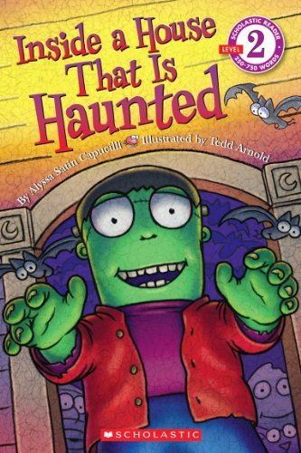 9780545287340: Scholastic Reader Level 2: Inside a House That is Haunted