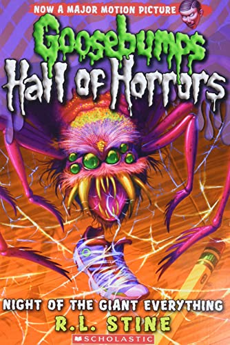 9780545289351: Goosebumps Hall of Horrors #2: Night of the Giant Everything