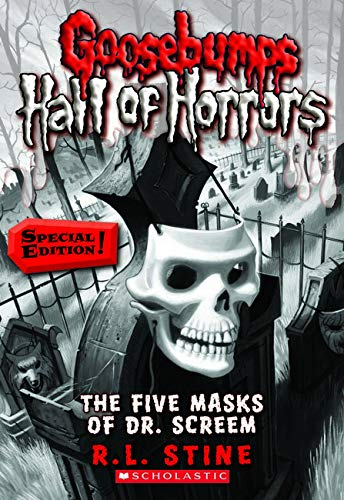 9780545289368: Goosebumps Hall of Horrors #3: The Five Masks of Dr. Screem: Special Edition