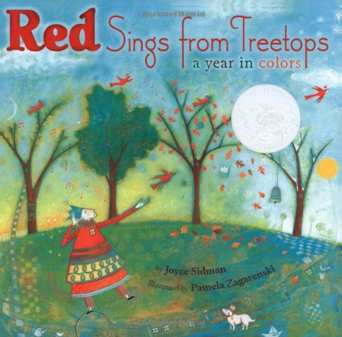 9780545289788: Red Sings from Treetops: A Year in Colors (Sidman, Joyce)