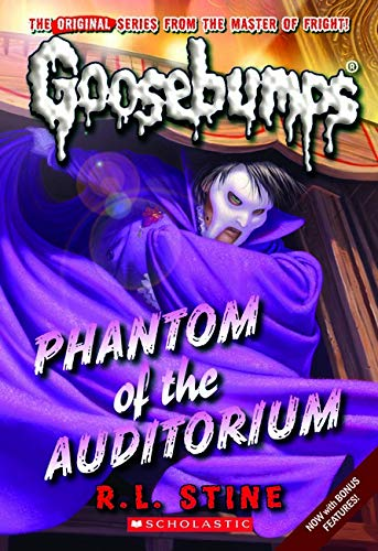 9780545298360: Phantom of the Auditorium (Goosebumps Classics (Reissues/Quality))