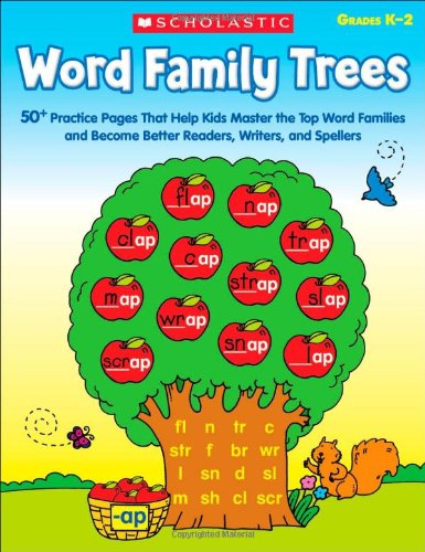 9780545300698: Word Family Trees: 50+ Practice Pages That Help Kids Master the Top Word Families and Become Better Readers, Writers, and Spellers (Teaching Resources)