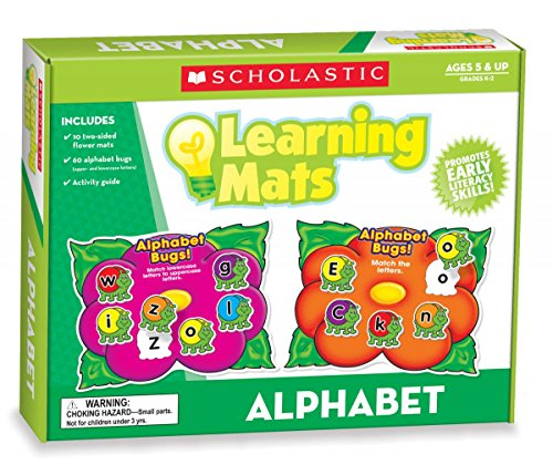 9780545301923: Alphabet Learning Mats