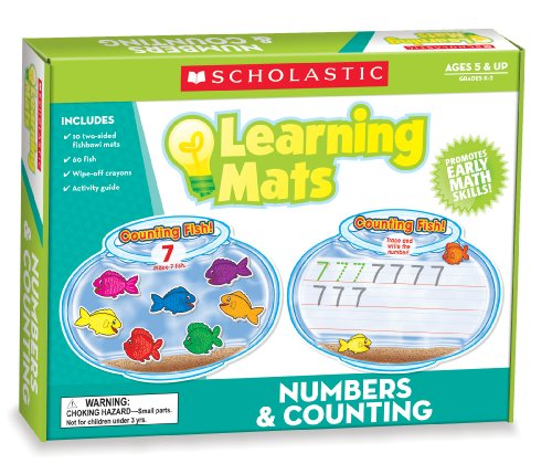 9780545301930: Numbers & Counting Learning Mats