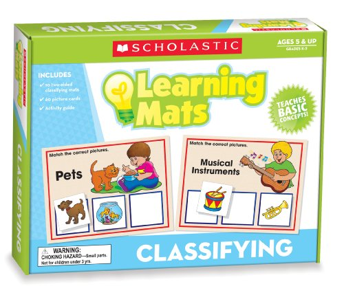 9780545301954: Classifying Learning Mats