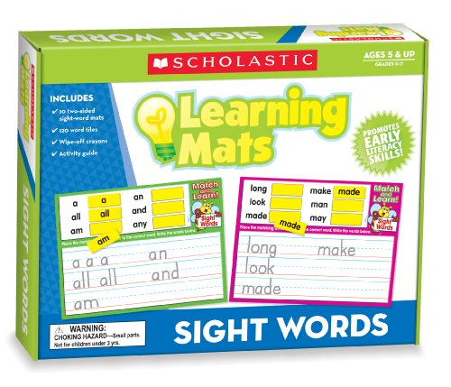 9780545302012: Sight Words (Learning Mats)