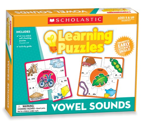 9780545302258: Vowel Sounds Learning Puzzles