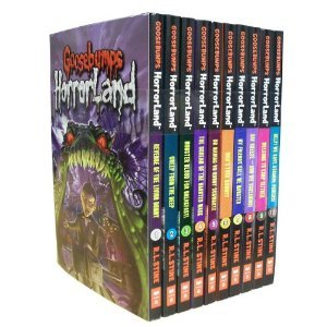 9780545310789: GOOSEBUMPS HORRORLAND 10-BOOK SET (Revenge of the Living Dummy, Creep from the Deep, Monster Blood for Breakfast, The Scream of the Haunted Mask, Who's Your Mummy?, My Friends Call Me Monster, Say Cheese -- and Die Screaming!, Welcome to Camp Slither, Help! We Have Strange Powers!, and Escape from HorrorLand)