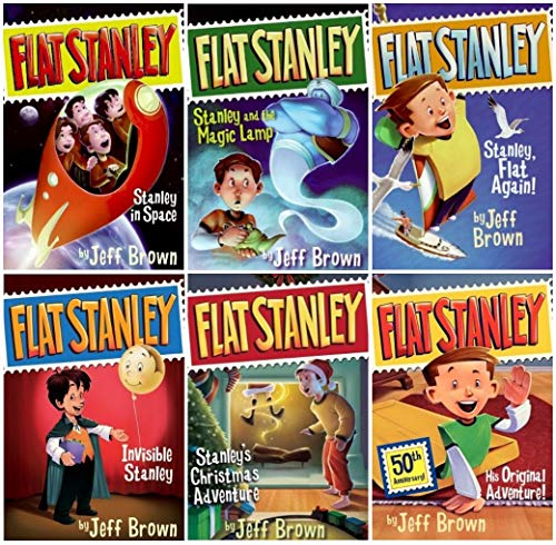 Flat Stanley, Books 1-6 (9780545310796) by Jeff Brown
