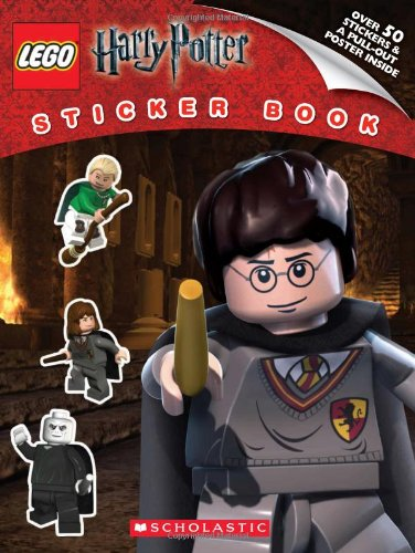 9780545312141: LEGO Harry Potter: Sticker Book