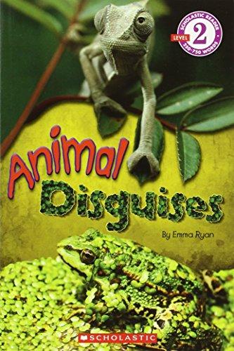 9780545317634: Scholastic Reader Level 2: Animal Disguises