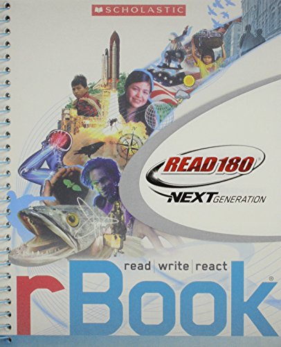 9780545318310: rBook Read 180 Next Generation Stage B by Scholastic 2012 (rBook, Stage B)