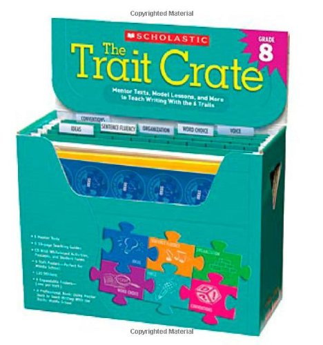 9780545318648: The Trait Crate® Grade 8: Mentor Texts, Model Lessons, and More to Teach Writing With the 6 Traits