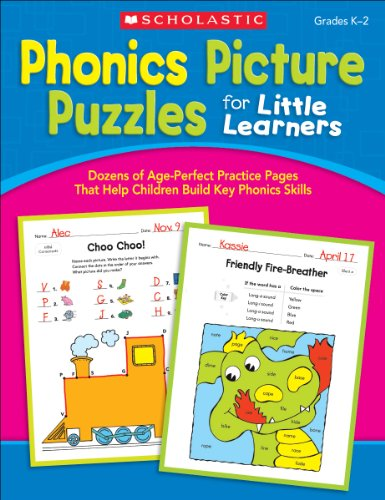 9780545318815: Phonics Picture Puzzles for Little Learners: Grades K-2: Dozens of Age-perfect Practice Pages That Help Children Build Key Phonics Skills