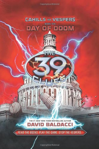9780545324168: The 39 Clues: Cahills vs. Vespers Book 6: Day of Doom - Library Edition