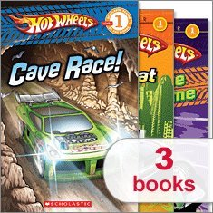 9780545332071: Hot Wheels Reader Pack (3 Books) (Scholastic Reader Level 1, Cave Race!; Street Heat; To the Extreme)