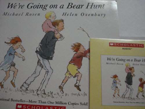 9780545332828: We're Going on a Bear Hunt Book & Audio CD