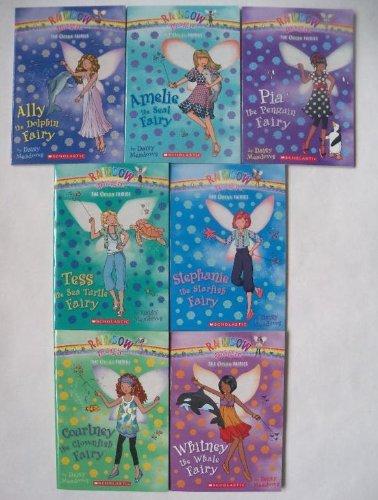 Rainbow Magic: The Ocean Fairies Complete Set, Books 1-7 (Ally the Dolphin Fairy, Amelie the Seal ...