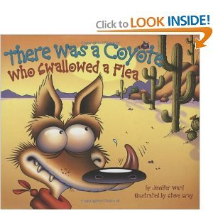 9780545342650: There Was a Coyote Who Swallowed a Flea