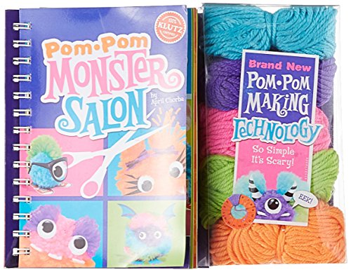 9780545346245: Pom-Pom Monster Salon (Klutz)