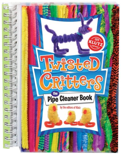 9780545346337: Twisted Critters: The Pipe Cleaner Book (Klutz)