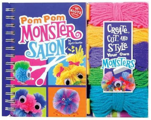 9780545346344: Pom-Pom Monster Salon (6CP) (Klutz)