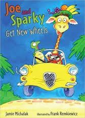 9780545347518: Joe and Sparky Get New Wheels