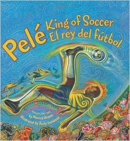 9780545349536: Pele, King of Soccer/Pele, El rey del futbol