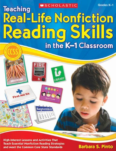 9780545353922: Teaching Real-Life Nonfiction Reading Skills in the K-1 Classroom: High-Interest Lessons and Activities That Teach Essential Nonfiction Reading Strate