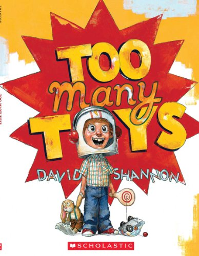 Too Many Toys - Audio (Read Along Book & CD): Shannon, David