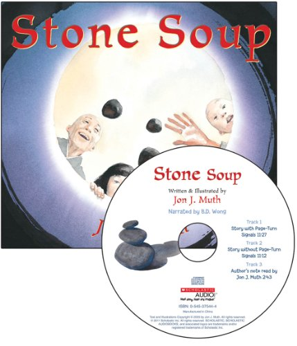 9780545353946: Stone Soup - Audio (Read Along Book & CD)