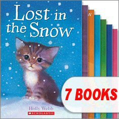 9780545354387: Animal Stories Set (7 Books) (Ellie the Homesick Puppy; Ginger the Stray Kitten; Lost in the Snow; Max the Missing Puppy; Sam the Stolen Puppy; Sky the Unwanted Kitten; Timmy in Trouble)