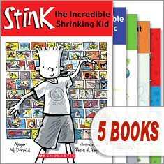 9780545355933: Stink Pack (5 Book Set) (Stink: The Incredible Shrinking Kid; Stink and the Incredible Super-Galacti