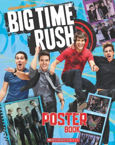 9780545358460: Big Time Rush Poster Book
