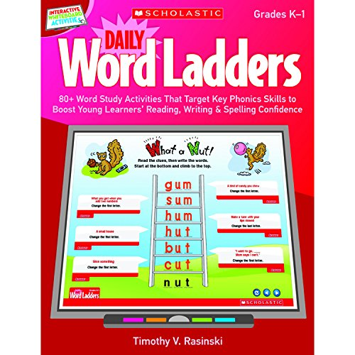 9780545374859: Interactive Whiteboard Activities: Daily Word Ladders (Gr. K–1): 80+ Word Study Activities That Target Key Phonics Skills to Boost Young Learners' ... Whiteboard Activities (Scholastic))