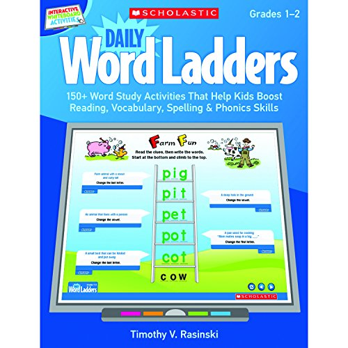 9780545374866: Interactive Whiteboard Activities: Daily Word Ladders (Gr. 1–2): 150+ Word Study Activities That Help Kids Boost Reading, Vocabulary, Spelling & Phonics Skills