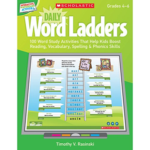 9780545374880: Interactive Whiteboard Activities: Daily Word Ladders (Gr. 4–6): 100 Word Study Activities That Help Kids Boost Reading, Vocabulary, Spelling & Phonics Skills