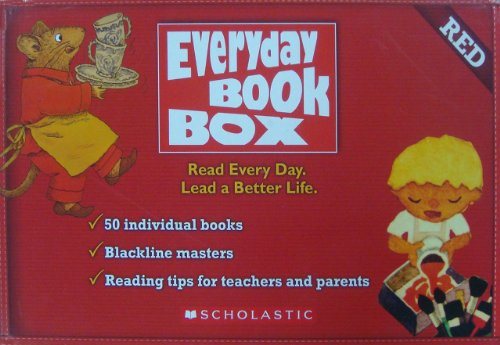 9780545377560: Everyday the Book Box: Red [Paperback]
