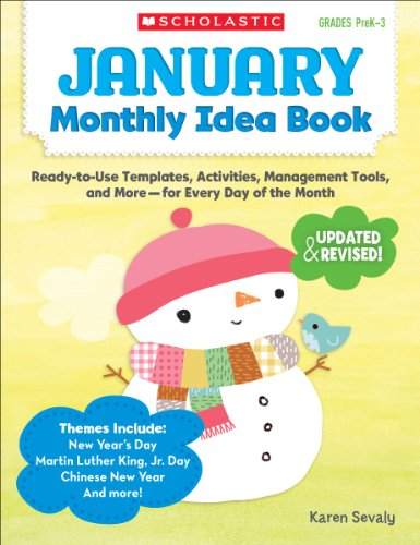 9780545379373: January Monthly Idea Book: Ready-to-Use Templates, Activities, Management Tools, and More - for Every Day of the Month