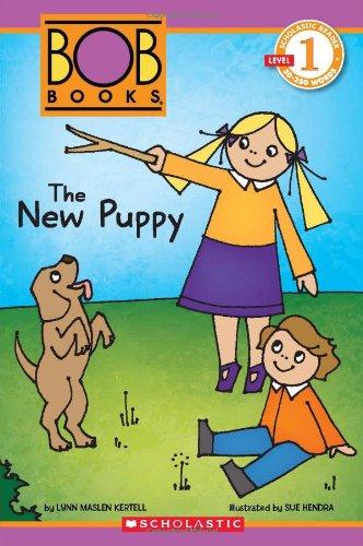 9780545382687: Scholastic Reader Level 1: BOB Books: The New Puppy