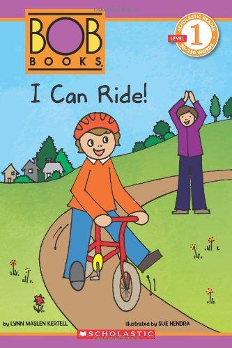 9780545382724: Scholastic Reader Level 1: BOB Books: I Can Ride!