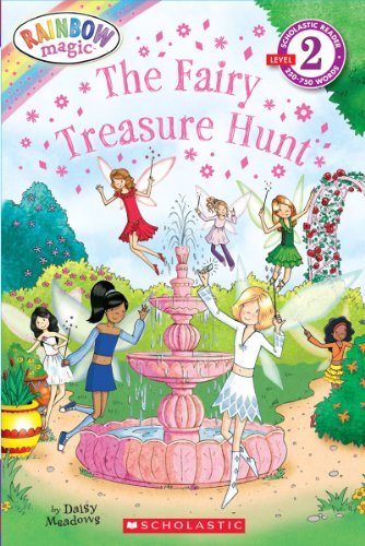 9780545384933: The Fairy Treasure Hunt (Scholastic Reader: Level 2)