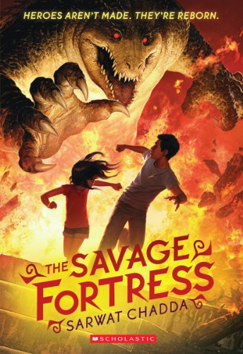 9780545385176: The Savage Fortress