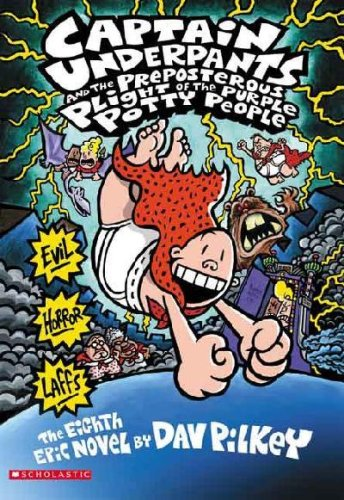 9780545385749: Captain Underpants and the Preposterous Plight of the Purple Potty People