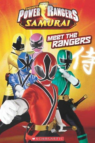 9780545390095: Power Rangers Samurai: Meet the Rangers (Scholastic Readers: Power Rangers Samurai)